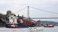 Containership Runs Aground in Bosphorus Strait