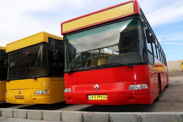 ورود ۱۳ اتوبوس به ناوگان اتوبوسرانی قزوین