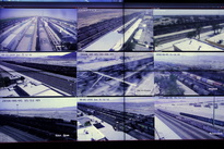 چند نما از مرکز کنترل ترافیک راهآهن
