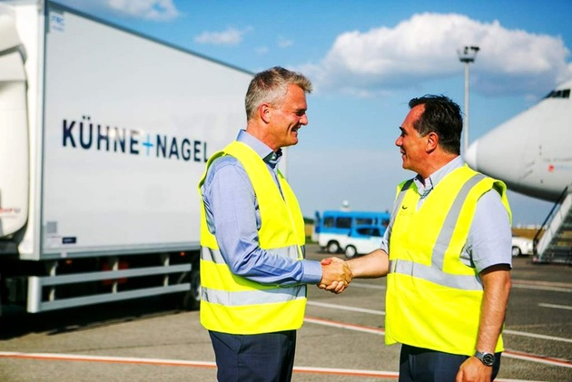 Budapest Airport welcomes Kuehne + Nagel
