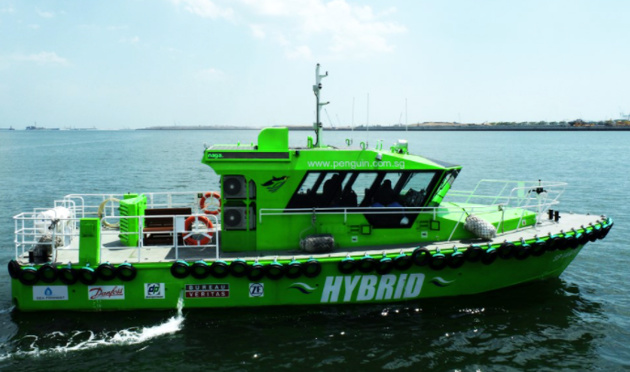 Singapore's first hybrid-powered ship launched