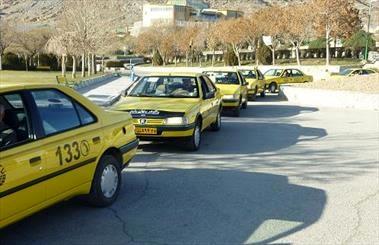 کار جالب راننده تاکسی بی سیم۱۳۳ قزوین+عکس