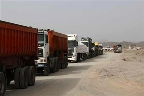 بالغ بر ۴ میلیون و ۱۸ هزار تن کالا از مرزهای کشور ترانزیت شد