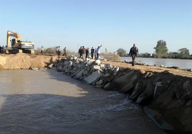 اداره کل راه و شهرسازی خوزستان مامور احداث سیل بند در اهواز شد