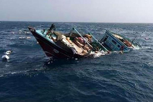 امدادرسانی به لنج باری مسیر دبی - گناوه