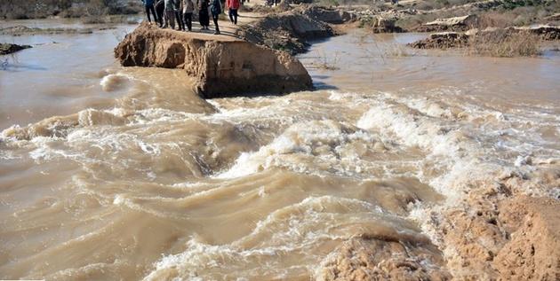 مسدود شدن راه ۱۶ روستای شهرستان چاراویماق