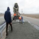 ترمیم ۶۵ کیلومتر راه آسیب دیده از سیل در شیروان