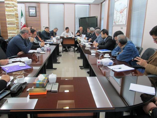 برگزاری جلسه کمیته خدما ت حمل و نقل سوخت و خدمات سفر ویژه نوروز 98