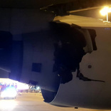 Thai Airways Boeing 777 rejects take off due to an uncontained engine failure