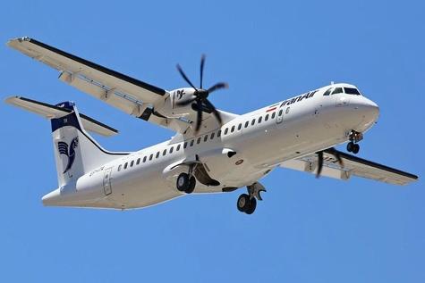 پرواز نخستین هواپیمای ATR هما به مقصد مشهد مقدس