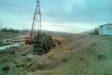 آغاز عملیات ساخت پل ورودی بیمارستان امامحسین در شهرستان تربت حیدریه
