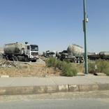اعتراض به توقف بارگیری بونکرداران حمل سیمان تهران