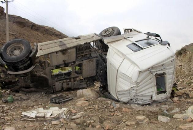 چهار کشته در تصادف آزادراه قم- کاشان