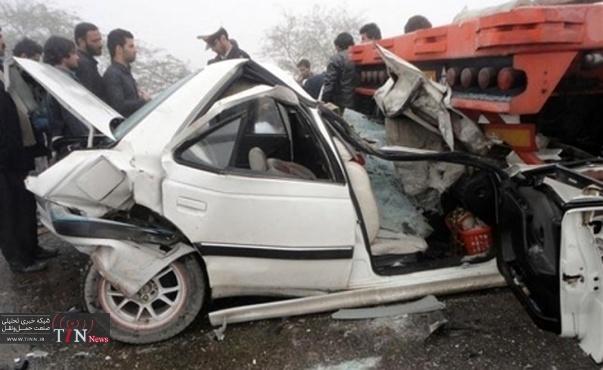 ۴ کشته و ۱۸ مجروح در تصادفات جادهای استان اصفهان در ۲۴ ساعت گذشته