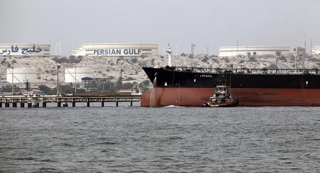 ابرنفتکش انگلیسی در خلیج فارس امن و امان است