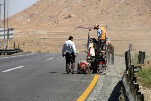 ۳۰۰ کیلومتر خط کشی در راه های مازندران اجرا شد