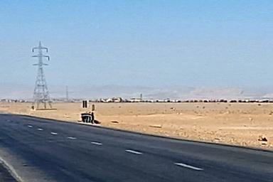 ازدحام کامیون ها در ایست و بازرسی نایین اتوبان را مسدود کرد