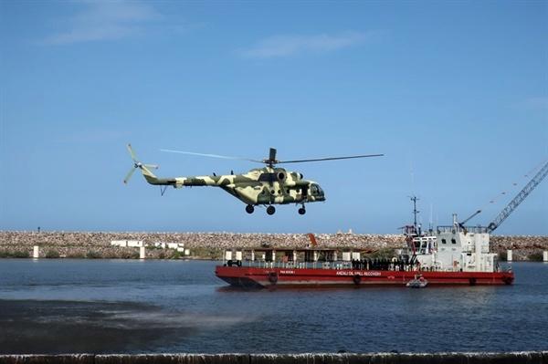 برگزاری مانور رهایی گروگان و مبارزه با اقدام تروریستی دریایی