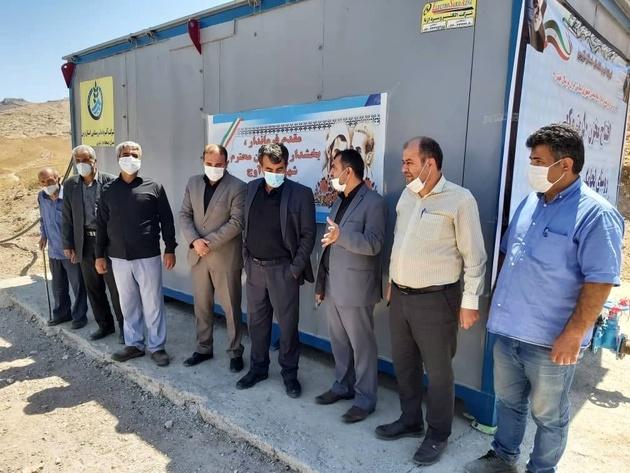 همزمان با هفته دولت صورت گرفت: افتتاح پروژه آبرسانی به روستای لجامگیر شهرستان آوج