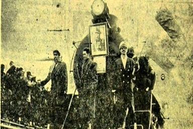 روایتی از ورود نخستین لکوموتیوها به مشهد