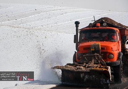 بارش برف در ارسباران، بهشهر و لاهیجان