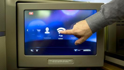 گوگل و نوکیا اینترنت هواپیما را توسعه میدهند