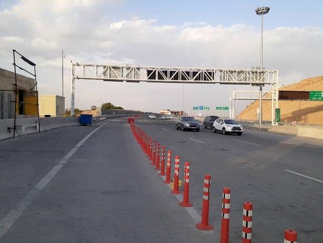 انسداد بخشی از آزادراه تهران-شمال/لغو محدودیت تردد در هراز