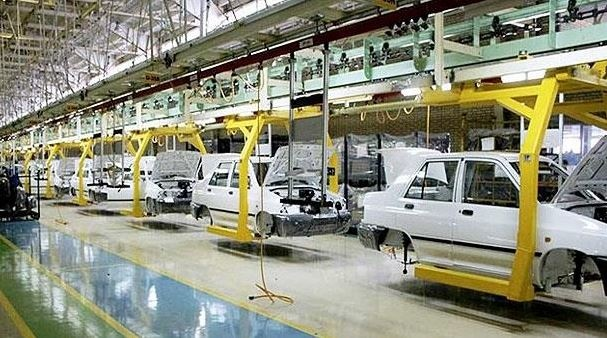 کاهش 3504درصدی تولید خودرو در سال جاری