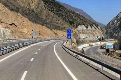 بهرهبرداری آزمایشی ۵ روزه قطعه یک آزادراه تهران – شمال