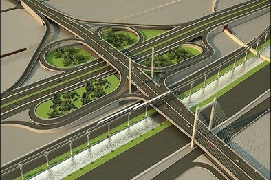 تلاش برای تکمیل آخرین پلهای تقاطع غیرهمسطح ثامن
