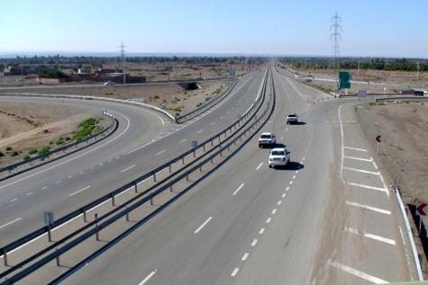 ۱۰ کیلومتر از قطعه ۹ بزرگراه میاندوآب، کرمانشاه به بهره برداری رسید
