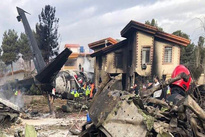 سقوط هواپیمای باری ارتش در فرودگاه فتح