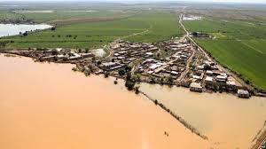 بررسی وضعیت سیلاب خوزستان توسط وزیر کشور