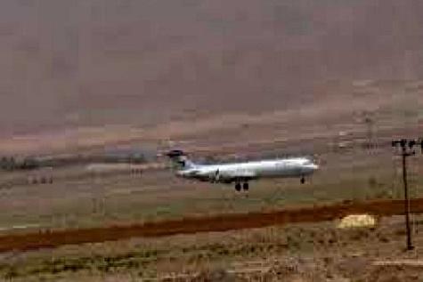 گردو غبار، پرواز آبادان به مشهد را لغو کرد
