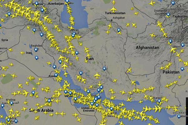 Iran lost $350 billion overflight fees due plane crash