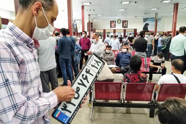 نوبت دهی تعویض پلاک در سراسر تهران اینترنتی شد