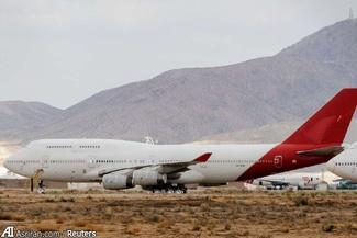 گزارش تصویری/ گورستان هواپیماها در آمریکا