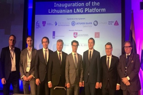 LNG platform launched in Lithuania