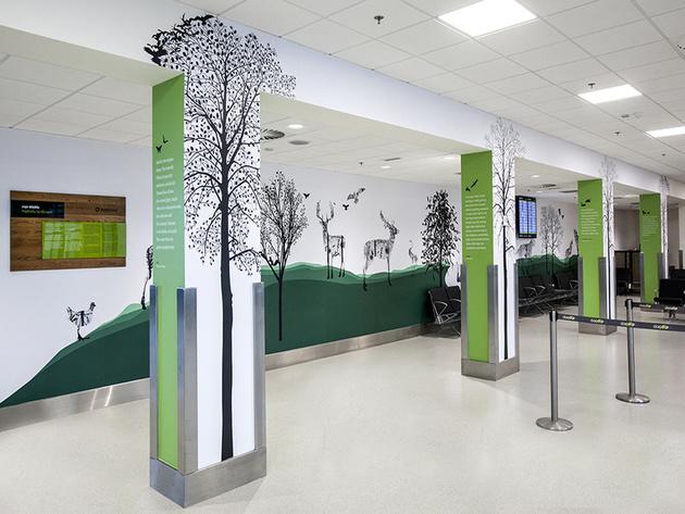 Dublin Airport unveils Irish art installations