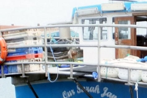 Man falls overboard potter 'Our Sarah Jane'