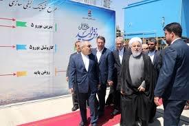 افتتاح سه طرح توسعهای پالایشگاه تبریز با حضور وزیر نفت