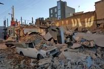 سفره شاهانه یک مدیر دولتی پس از حضور در نمایش بازدید از مناطق زلزلهزده