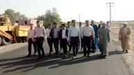 بازدید نماینده مردم پنج شهرستان از پروژههای جنوب استان کرمان