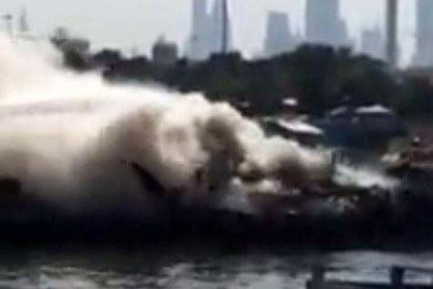 ◄ آتشسوزی لنجهای ایران در اسکله دبی