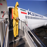 Iran's Airport Traffic Down 70%
