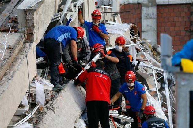 شمار قربانیان زلزله ترکیه به ۲۴ نفر رسید