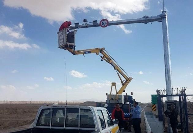 نصب 34دوربین نظارت تصویری در جادههای کرمانشاه