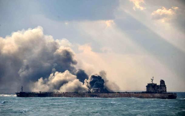 ترکیب حوادث و تلفات کشتیها در بازه 10 ساله