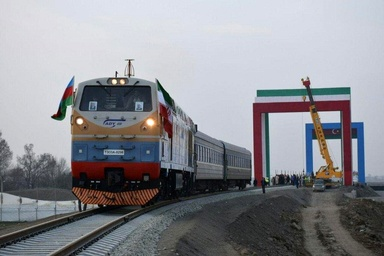 راه آهن آستارا-آستارا منافع بخشی از اوراسیا را تامین میکند
