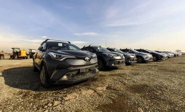 ۳۸۷ خودروی صفر کیلومتر در تهران کشف شد